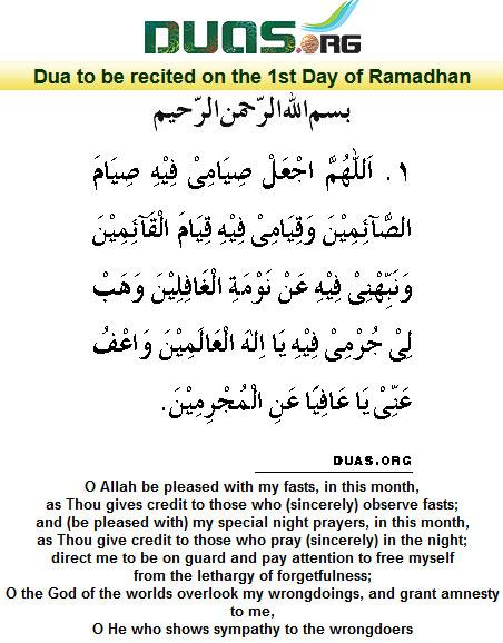 Ramadan Dua Pdf